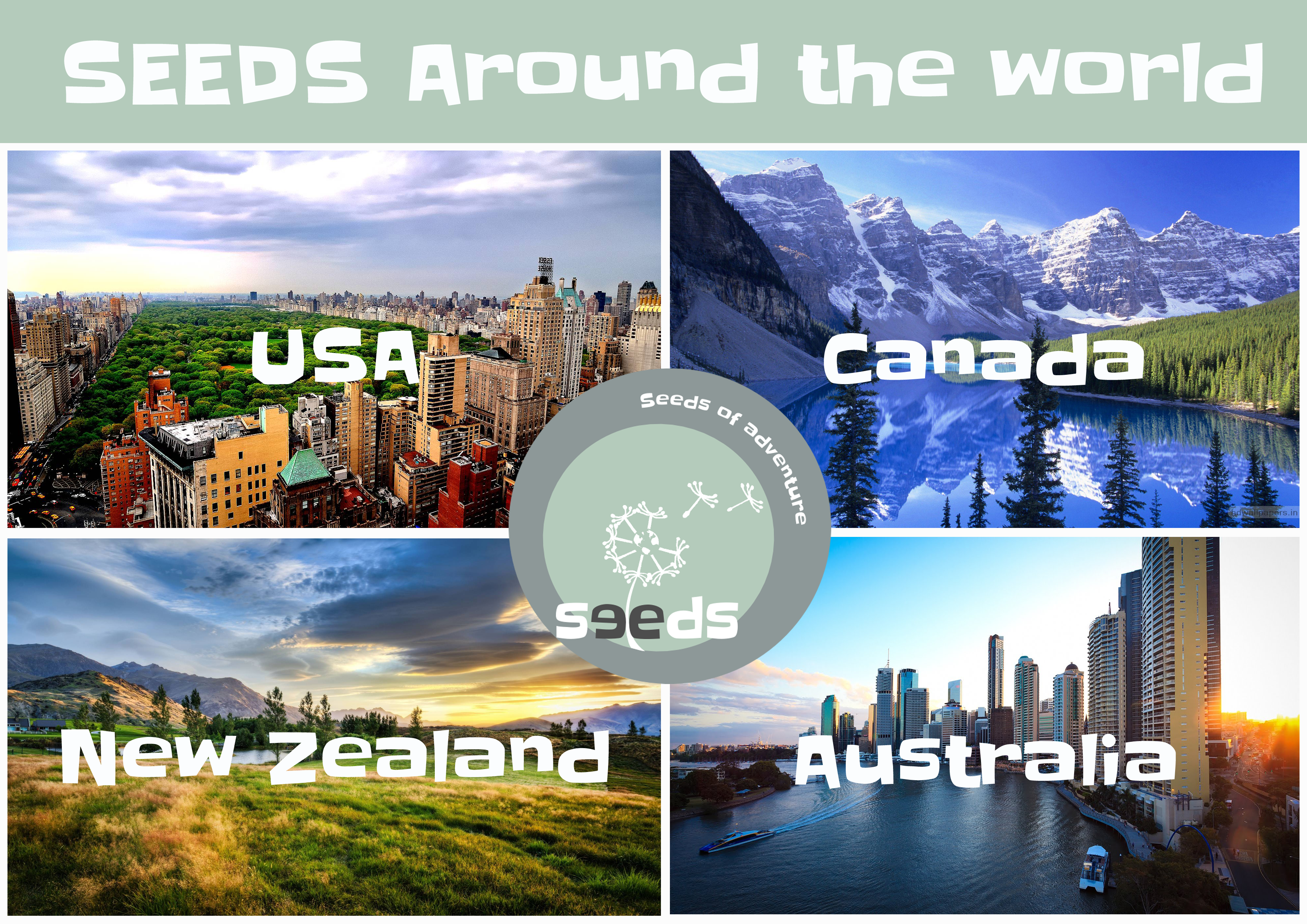 Seeds around the world